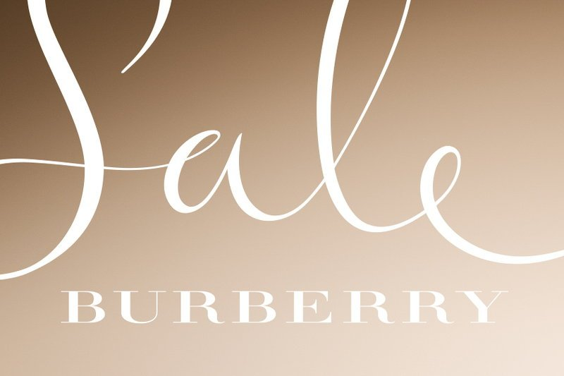 Burberry Memorial Day Sales