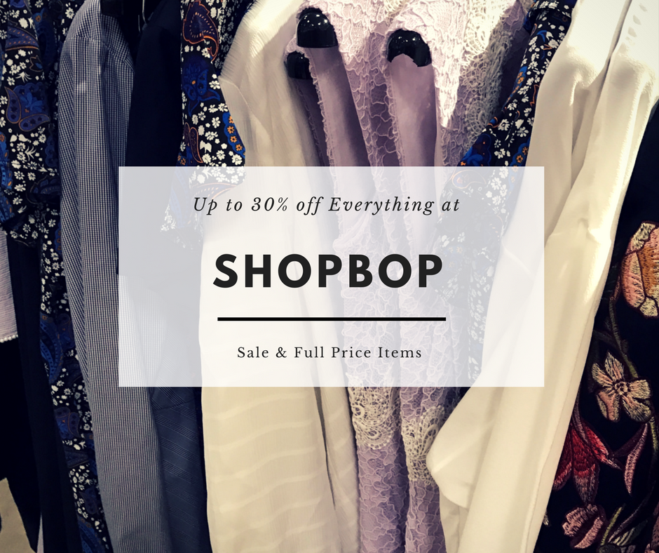 Shopbop Black Friday Sales