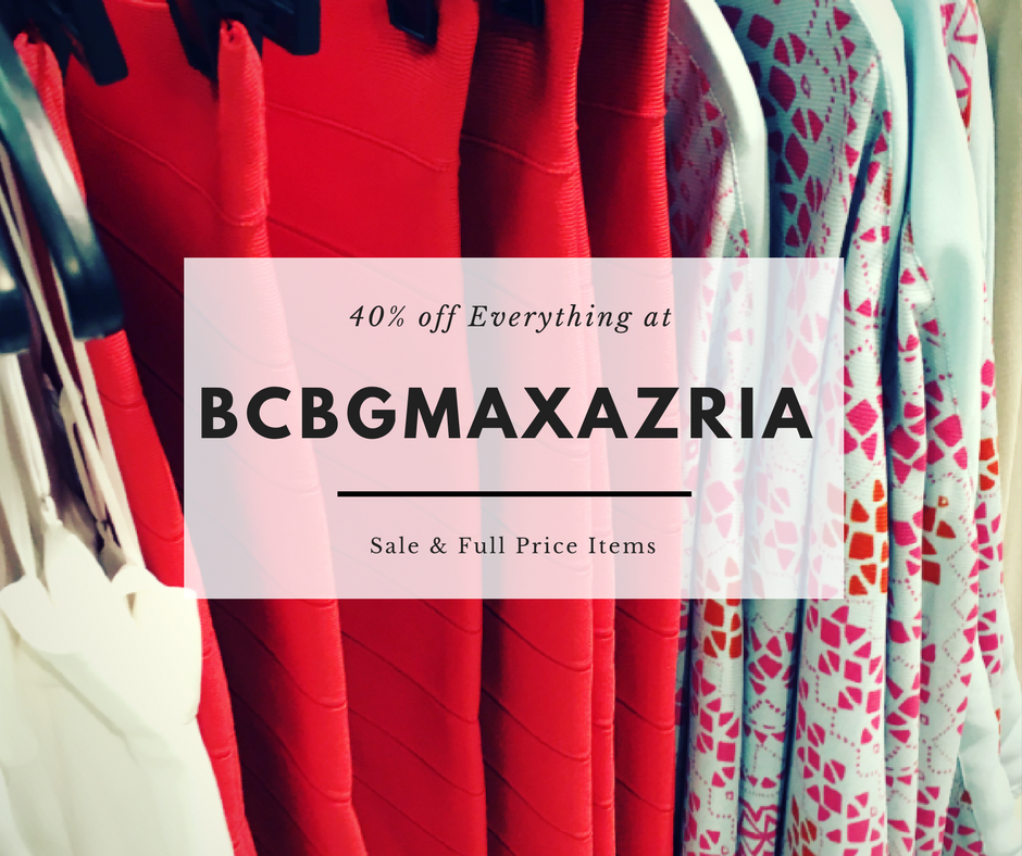 BCBGMAXAZRIA Black Friday Sales
