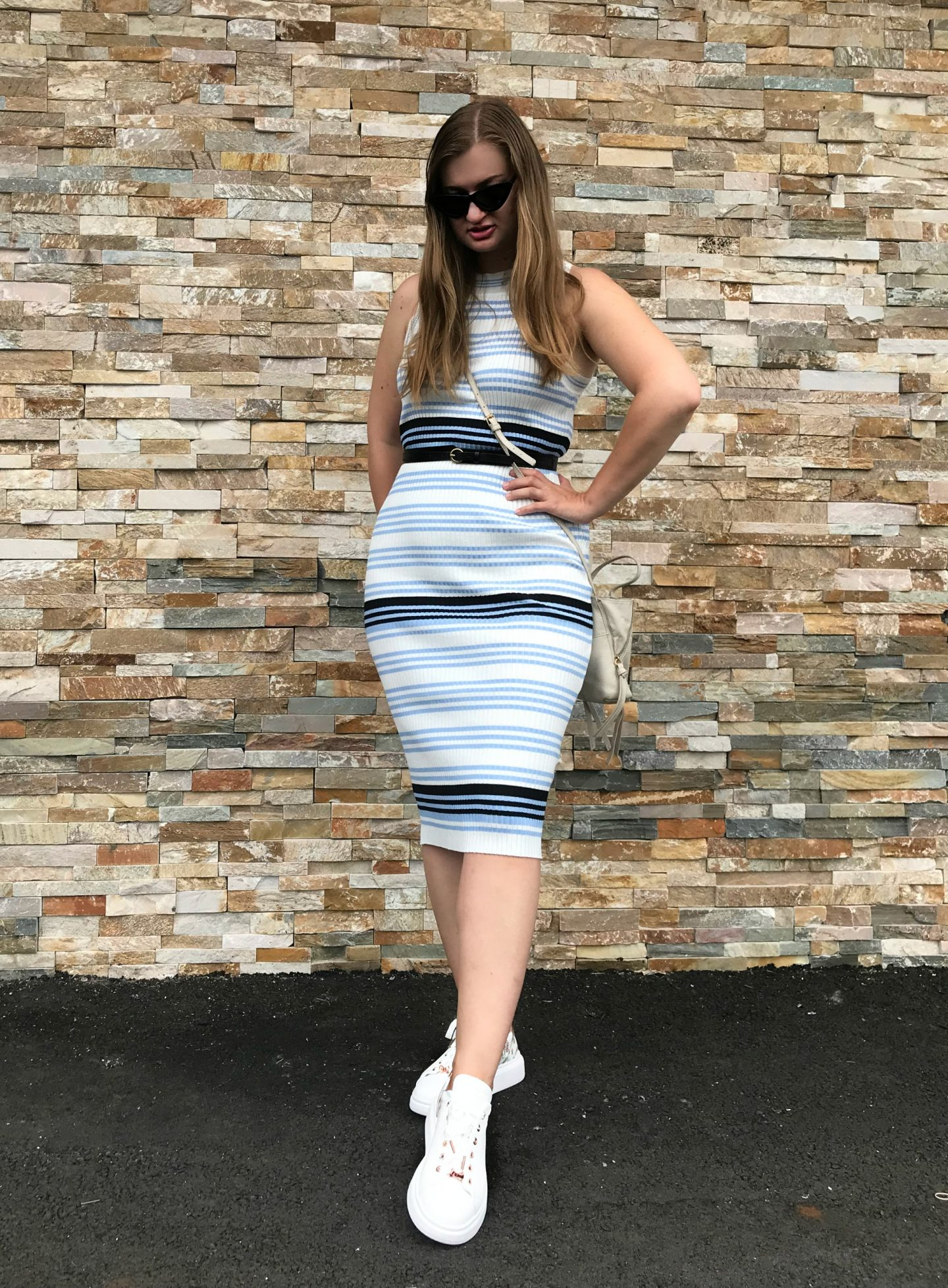 Dresses with Sneakers: Day 3 of The EasilyDressed Challenge Part II