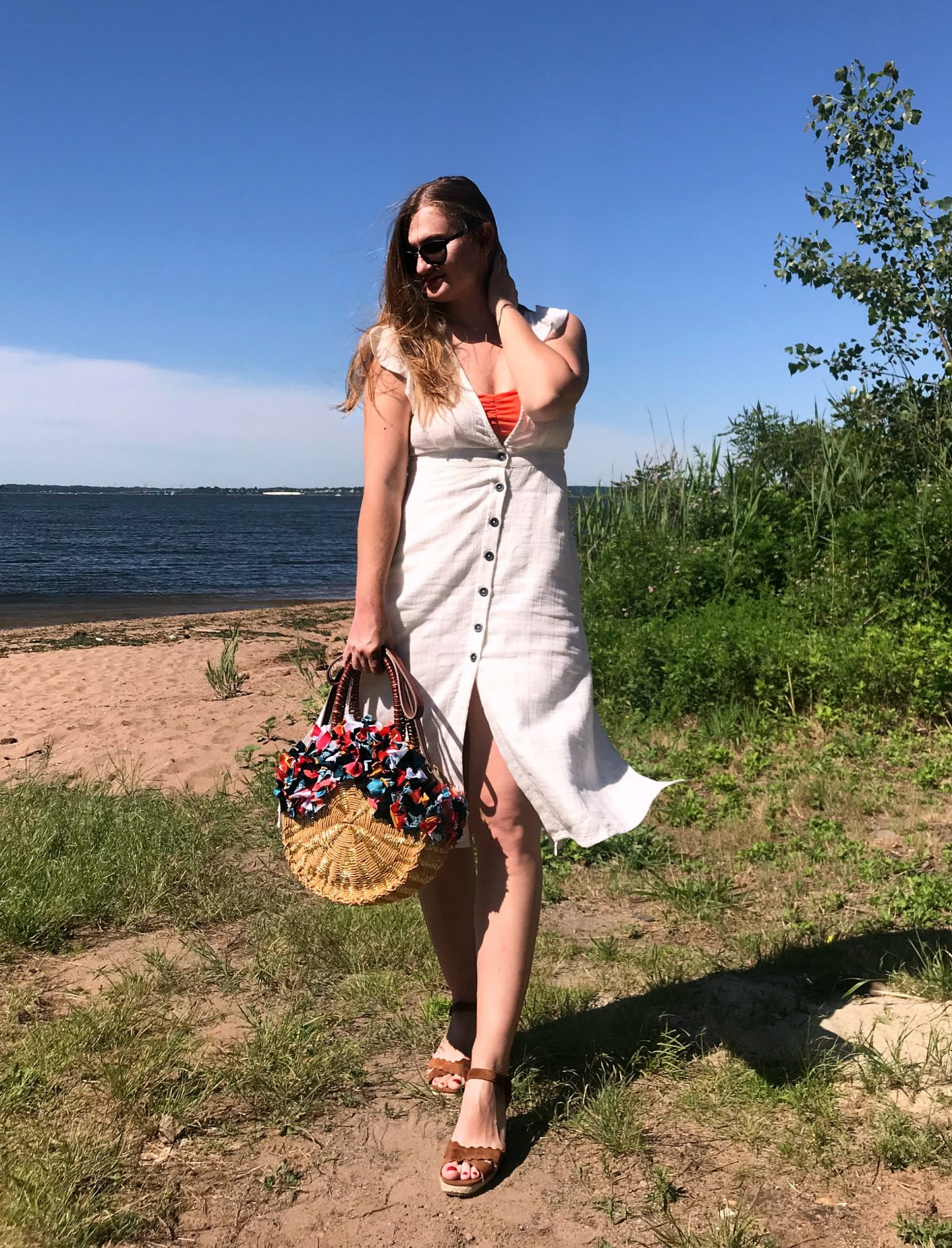 White Summer Dress: Day 4 of The EasilyDressed Style Challenge
