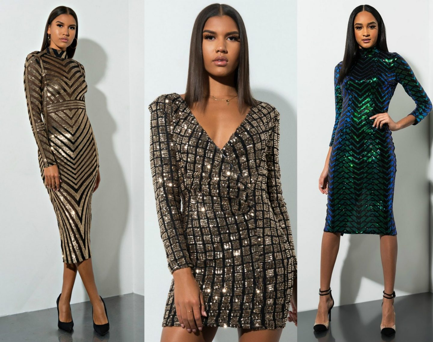 Sequin Outfits for the Holidays and Beyond