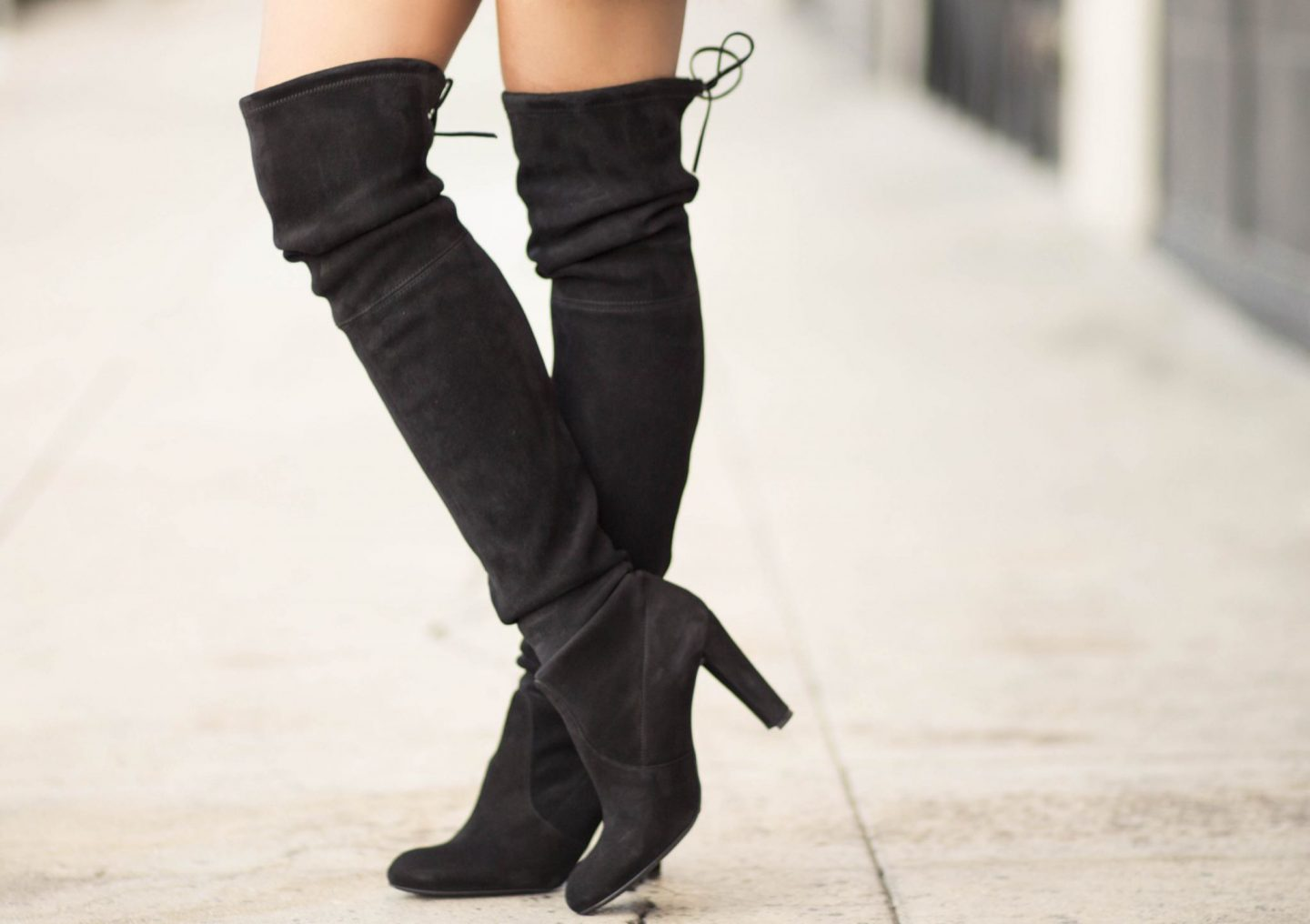 Stuart Weitzman Highland Over the Knee Boots on Sale