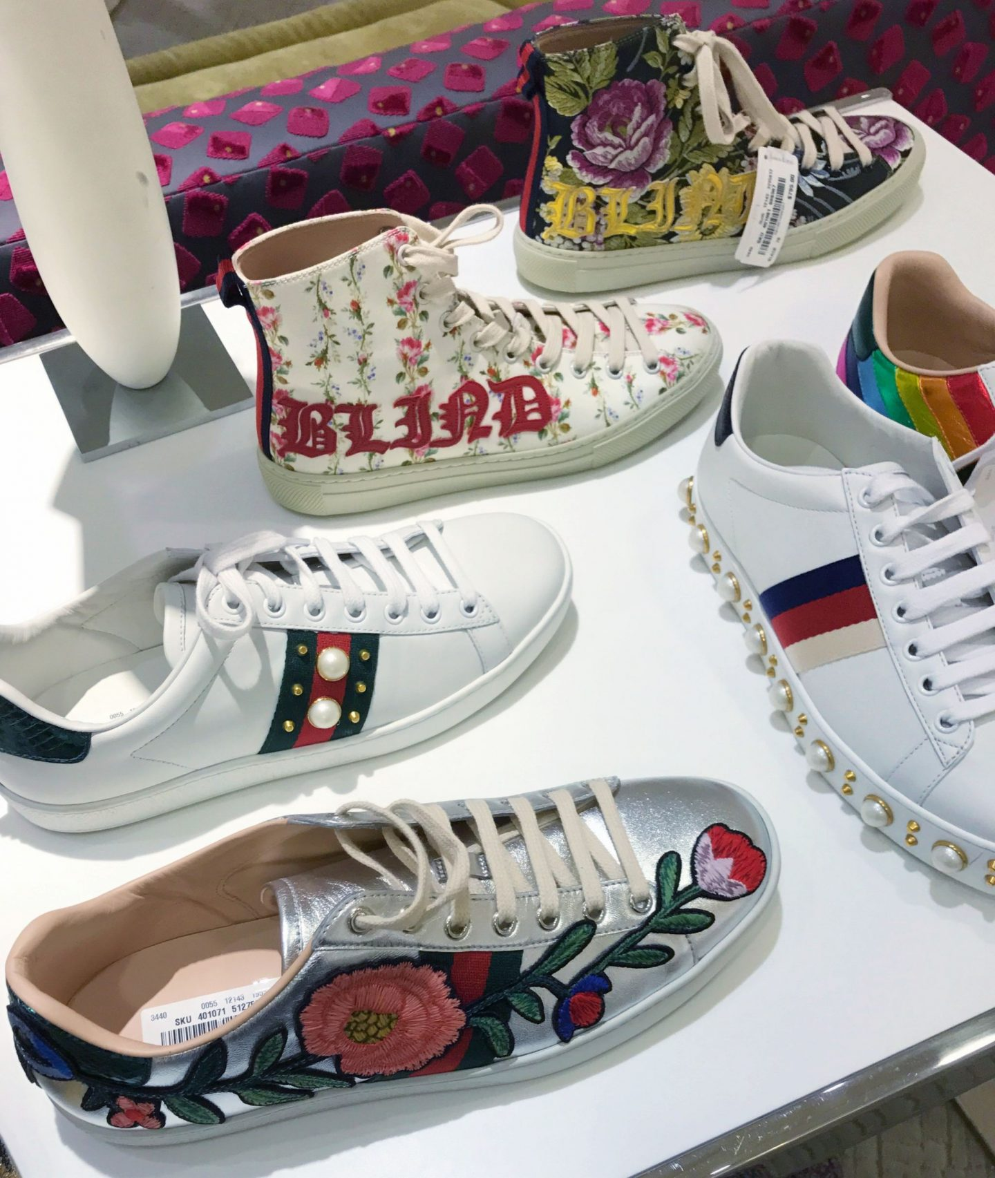 Gucci Sale New Collection Sneakers