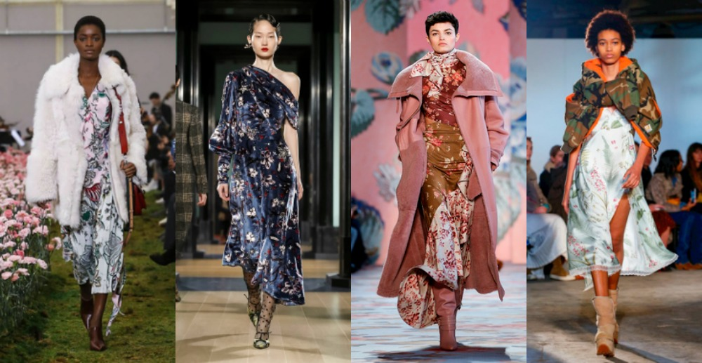 Fashion Trends 2018 - Florals