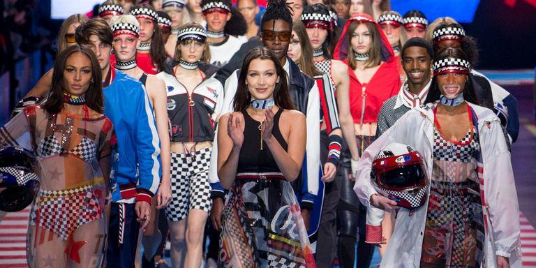 Tommy Hilfiger TOMMYNOW Runway Fashion Show Milan