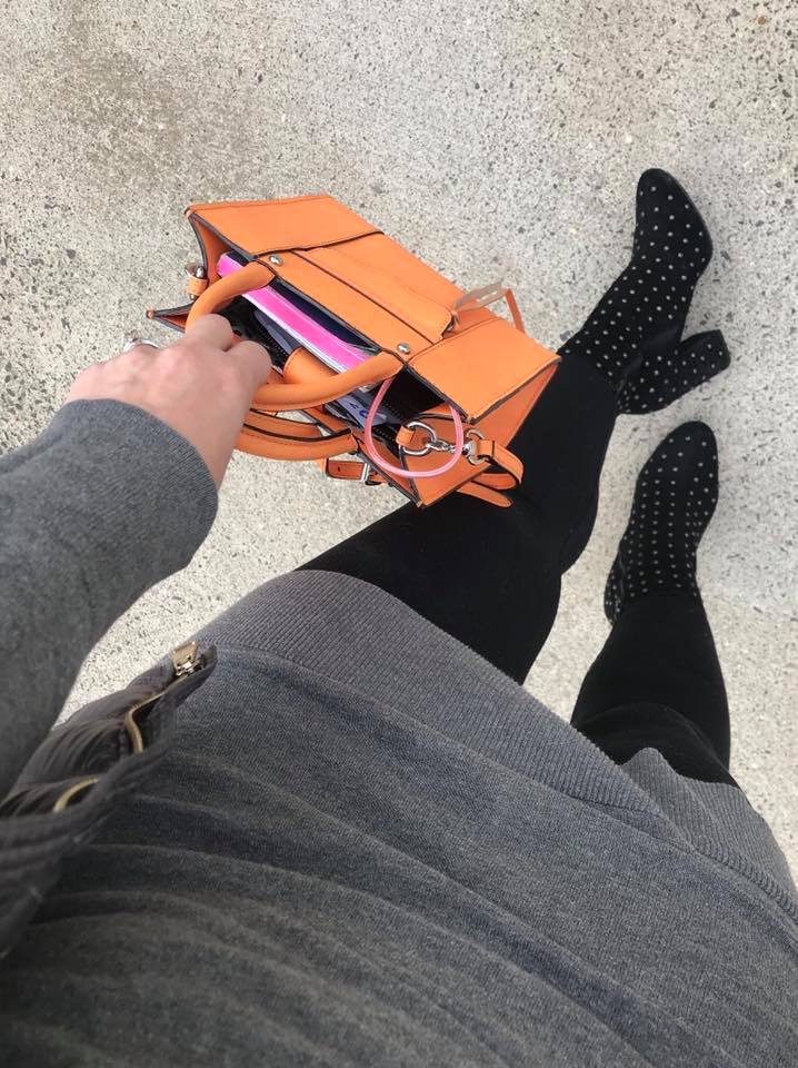 Day 10 of the EasilyDressed Challenge: an Outfit for a Cold Spring Day