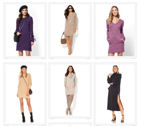 Sweater Dress Gallery
