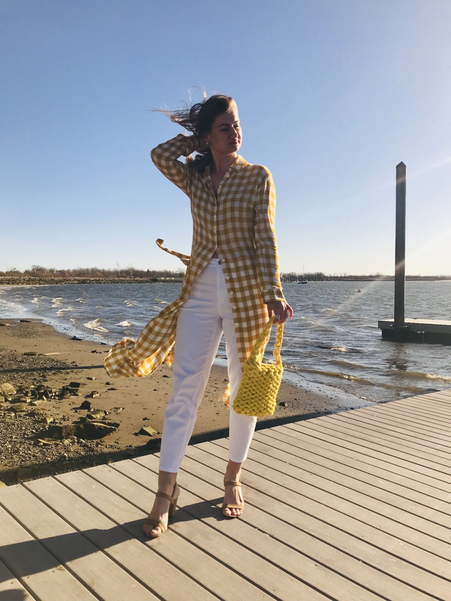 Day 5 – Yellow – EasilyDressed Pop of Color Challenge