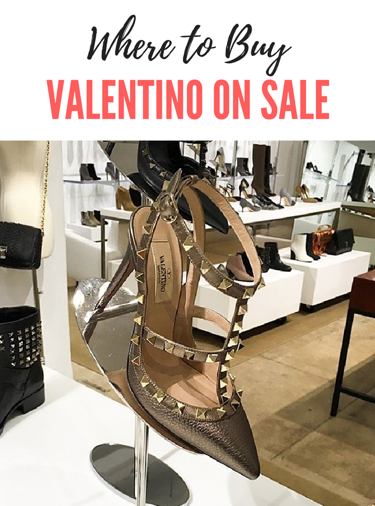 Top Designer Brands on Sale: Where to Buy Valentino with a Discount